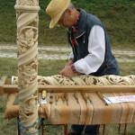 Rzeżbiarz w drewnie