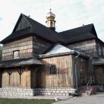 Drewniana cerkiew p.w. NMP