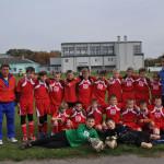 Szkolna drużyna piłkarska