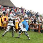 Knight fights